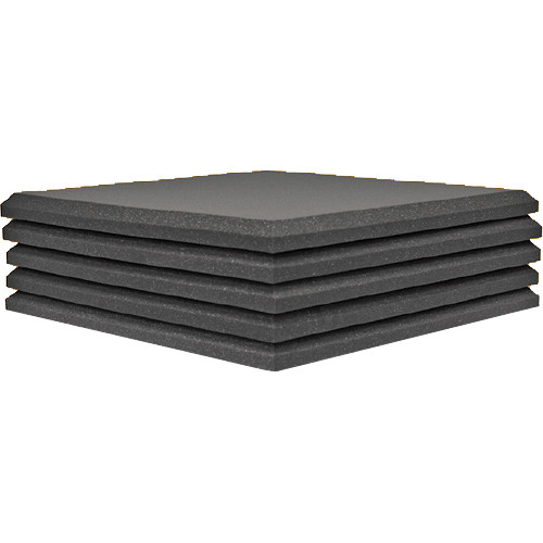 Auralex Studiofoam Pro Acoustical Foam Panel (5-Pack, Pair of 2 x 2')