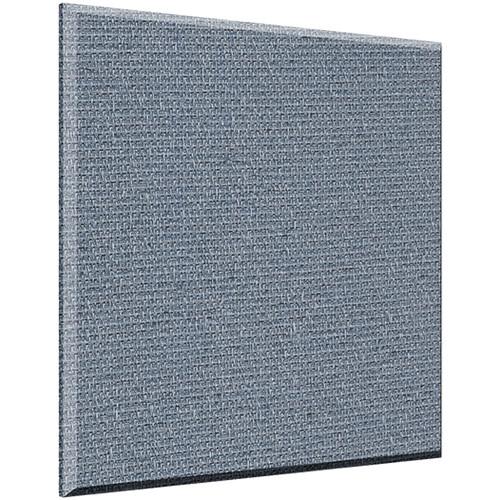 "Auralex 1"" X 24"" X 24"" Panel, Beveled Edge, Quarry Fabric, AFN 2 Impaling Clips - Tier 3"