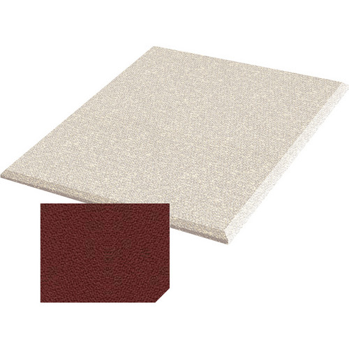 "Auralex ProPanel Fabric-Wrapped Acoustical Absorption Panel (2"" x 2' x 2', Beveled, Henna)"
