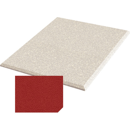 "Auralex ProPanel Fabric Wrapped Acoustical Absorption Panel and Cloud Mount (2"" x 2' x 2', Beveled, Poppy)"