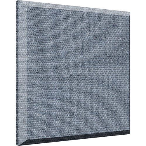 "Auralex 2"" X 24"" X 24"" Panel, Beveled Edge, Quarry Fabric,AFN 2 Impaling Clips - Tier 3"