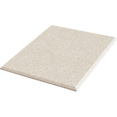 """Auralex ProPanel Fabric Wrapped Acoustical Absorption Panel and Cloud Mount (2"""" x 2' x 2', Beveled, Sandstone)"""