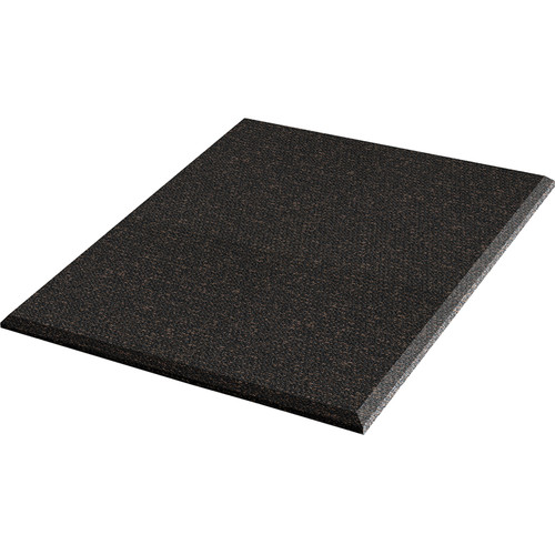 "Auralex ProPanel Fabric-Wrapped Acoustical Absorption Panel (2"" x 2' x 4', Beveled, Obsidian, 3-Pack)"