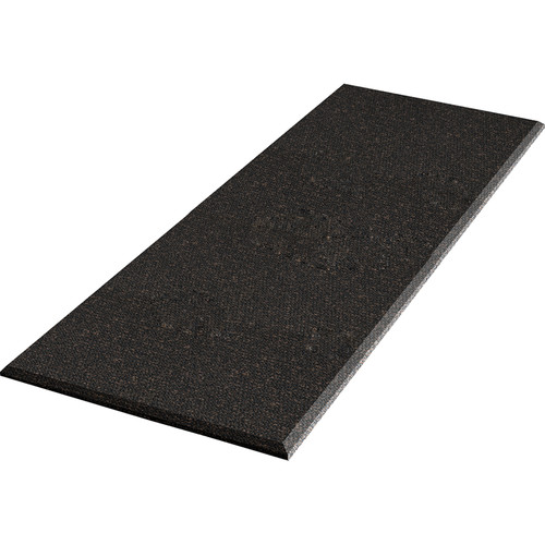 """Auralex ProPanel Fabric Wrapped Acoustical Absorption Panel and Cloud Mount (2"""" x 2' x 4', Beveled, Obsidian)"""