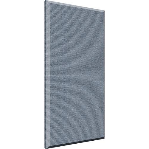 "Auralex 2"" X 24"" X 48""' Panel, Beveled Edge, Quarry Fabric, 4 Cloud Anchors - Tier 2"