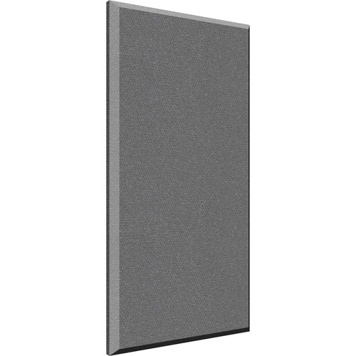 "Auralex 2"" X 24"" X 48"" Panel, Beveled Edge, Slate Fabric, AFN 2 Impaling Clips - Tier 2"