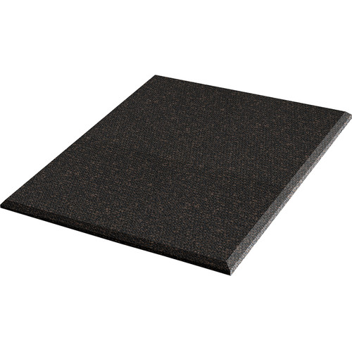 """Auralex ProPanel Fabric Wrapped Acoustical Absorption Panel and Cloud Mount (2"""" x 4' x 4', Beveled, Obsidian)"""