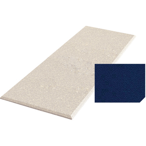 "Auralex ProPanel Fabric-Wrapped Acoustical Absorption Panel with Clouds (2"" x 4' x 8', Beveled, Cobalt)"