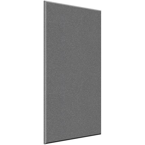 "Auralex 2"" X 48"" X 96""' Panel, Beveled Edge, Slate Fabric, 6 AFN Impaling Clips - Tier 3"