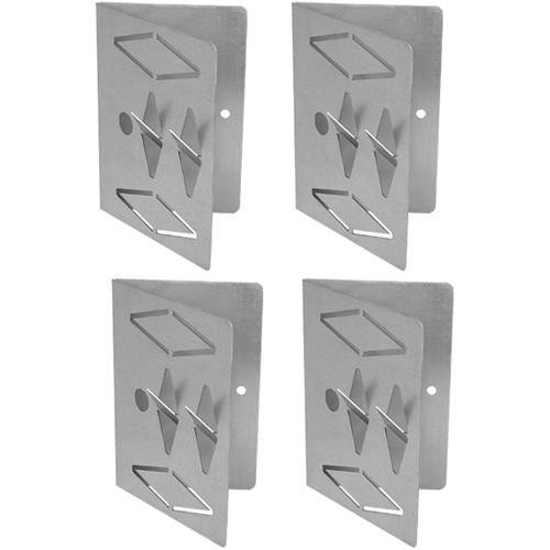 Auralex CT_4PK 45° Impaling Clips for Corner Trap Panels (4-Pack)