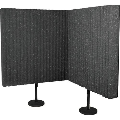 Auralex DeskMAX Stand-Mounted Acoustic Panels (Set of 2)
