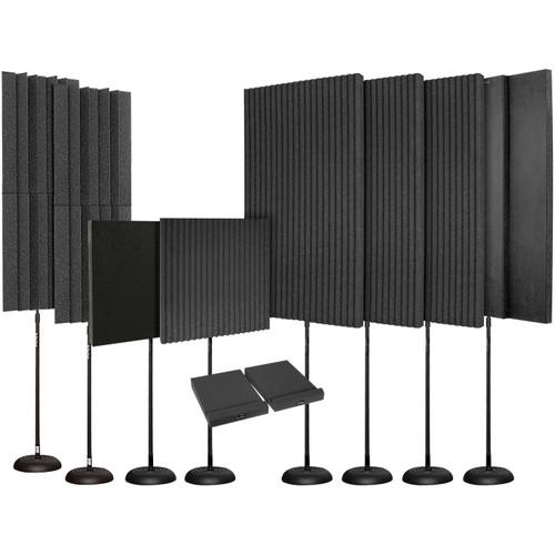 Auralex EditMAX Portable Room Treatment Kit (Charcoal)