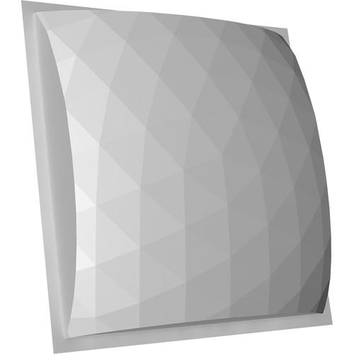 "Auralex GeoFusor 22 Sound-Diffusion Panel 4 EZ-Stick Pro Tabs (23.8 x 23.8 x 4.5"")"