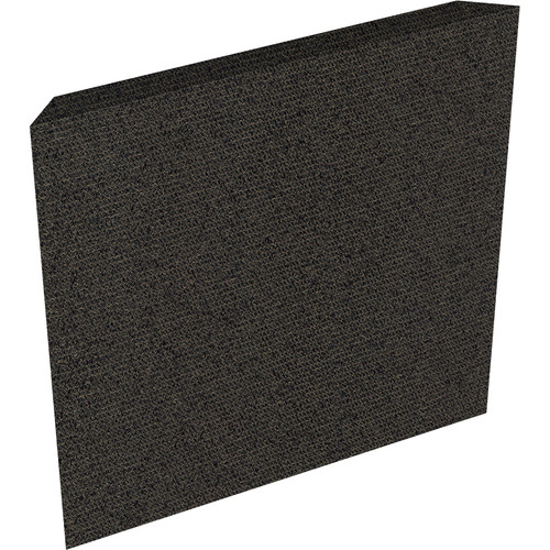 "Auralex ProPanel Fabric-Wrapped Acoustical Absorption Panel (2"" x 2' x 2', Reverse Mitered, Obsidian)"