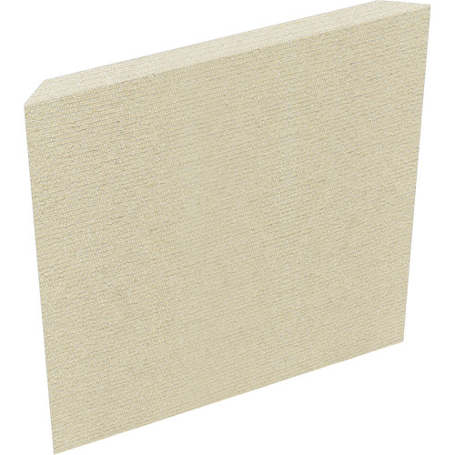 "Auralex ProPanel Fabric-Wrapped Acoustical Absorption Panel (2"" x 2' x 2', Reverse Mitered, Sandstone)"