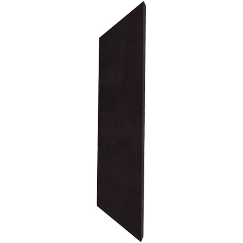 "Auralex ProPanel M224 Fabric-Wrapped Acoustical Absorption Panel (2 x 24 x 48"", Mitered Edge, Black SonoSuede)"
