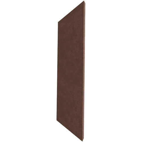 "Auralex ProPanel M224 Fabric-Wrapped Acoustical Absorption Panel (2 x 24 x 48"", Mitered Edge, Brown SonoSuede)"