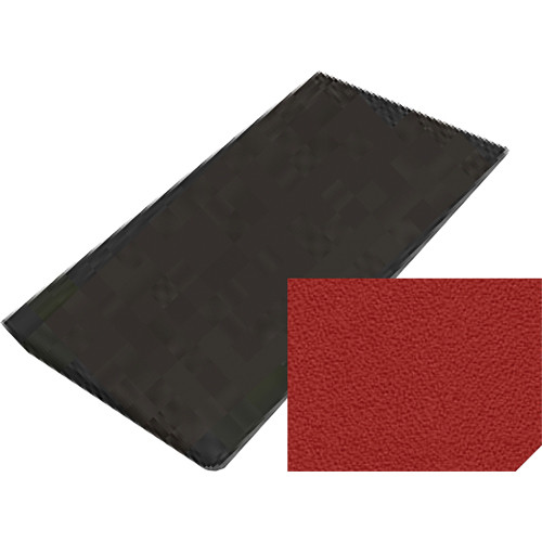 "Auralex ProPanel Fabric-Wrapped Acoustical Absorption Panel (2"" x 2' x 4', Mitered, Poppy)"