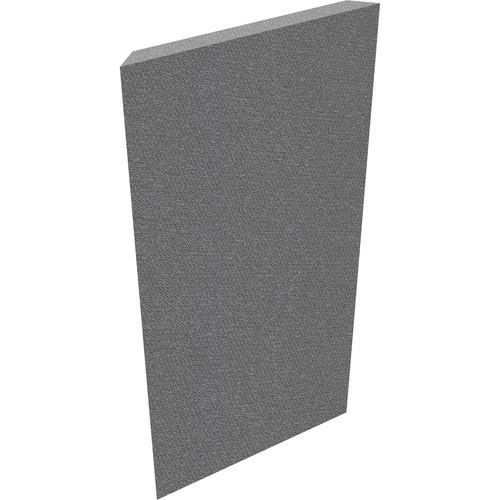 "Auralex 2"" X 24"" X 48"" Panel, Mitered Edge, Slate Fabric, 4 CTC Corner Impaling Clips - Tier 2"
