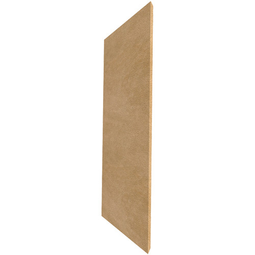 """Auralex ProPanel M224 Fabric-Wrapped Acoustical Absorption Panel (2 x 24 x 48"""", Mitered Edge, Tan SonoSuede)"""