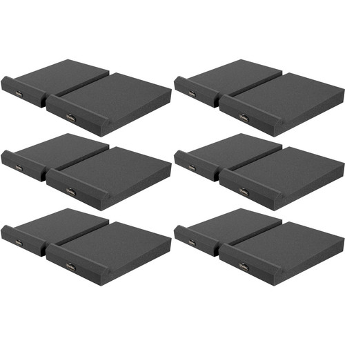 Auralex MoPAD-XL6 Monitor Isolation Pads (6 Sets)