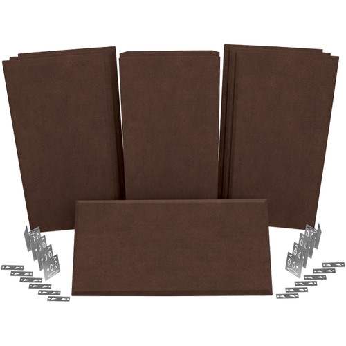 Auralex ProPanel ProKit-1 Acoustical Room Treatment System (Brown)
