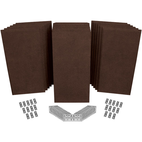 Auralex ProPanel ProKit-2 Acoustical Room Treatment System (Brown)