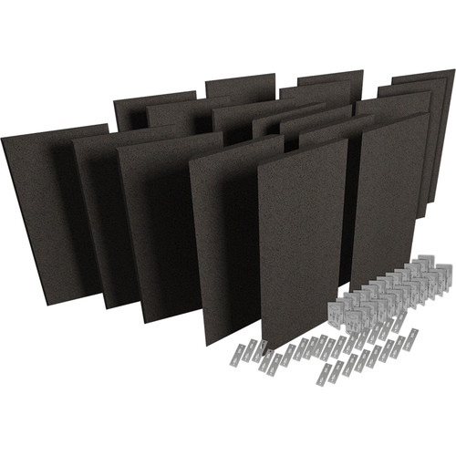 Auralex ProPanel ProKit-2 All-In-One Acoustical Room Treatment System (Obsidian)
