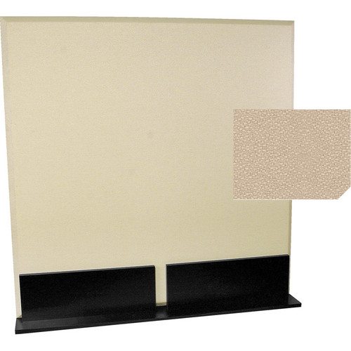 Auralex ProGo Portable Freestanding Acoustic Panel with Floorstands (4 x 4', Beige)