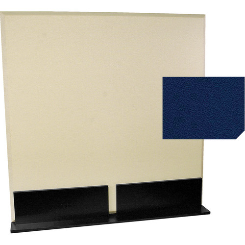 Auralex ProGo Portable Freestanding Acoustic Panel with Floorstands (4 x 4', Cobalt)