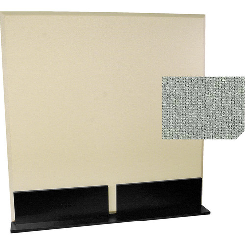 Auralex ProGo Portable Freestanding Acoustic Panel with Floorstands (4 x 4', Petoskey)