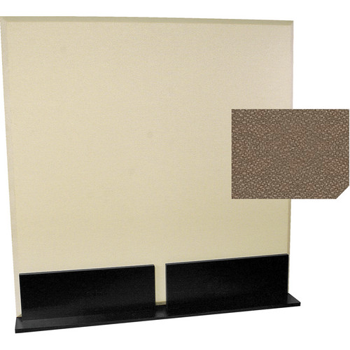 Auralex ProGo Portable Freestanding Acoustic Panel with Floorstands (4 x 4', Pumice)