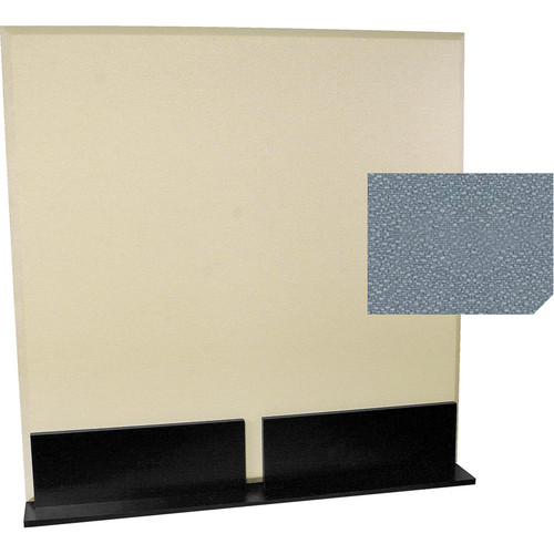Auralex ProGo Portable Freestanding Acoustic Panel with Floorstands (4 x 4', Shadow)
