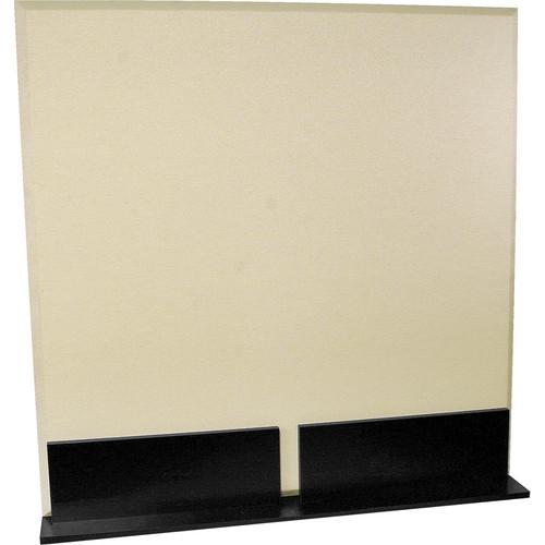 Auralex ProGo Portable Freestanding Acoustic Panel with Floorstands (4 x 4', Sandstone)