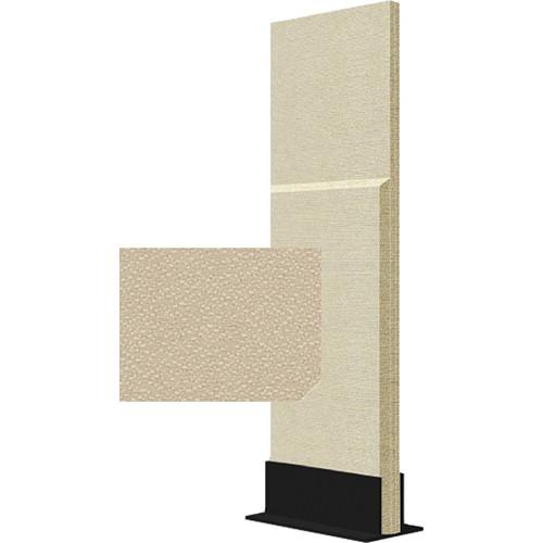 Auralex ProGo Portable Freestanding Acoustic Panel with Floorstand (2 x 6', Beige)