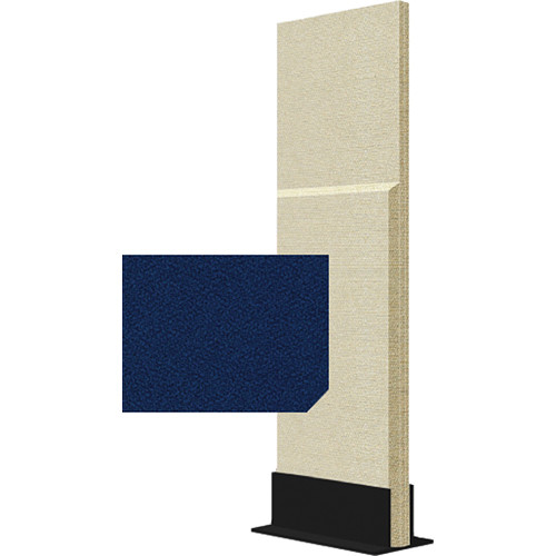 Auralex ProGo Portable Freestanding Acoustic Panel with Floorstand (2 x 6', Cobalt)