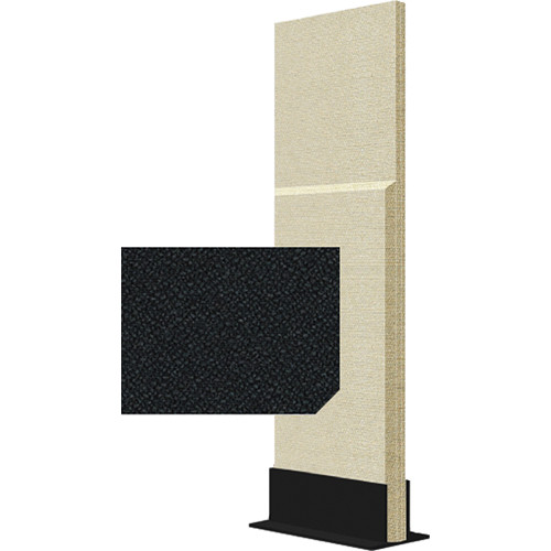 Auralex ProGo Portable Freestanding Acoustic Panel with Floorstand (2 x 6', Ebony)