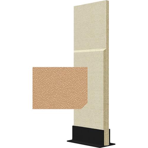 Auralex ProGo Portable Freestanding Acoustic Panel with Floorstand (2 x 6', Mesa)