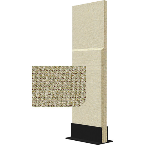 Auralex ProGo Portable Freestanding Acoustic Panel with Floorstand (2 x 6', Patina)