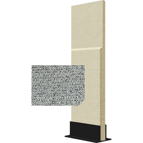 Auralex ProGo Portable Freestanding Acoustic Panel with Floorstand (2 x 6', Petoskey)