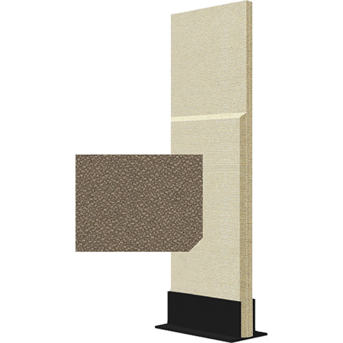 Auralex ProGo Portable Freestanding Acoustic Panel with Floorstand (2 x 6', Pumice)