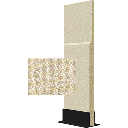 Auralex ProGo Portable Freestanding Acoustic Panel with Floorstand (2 x 6', Sandstone)