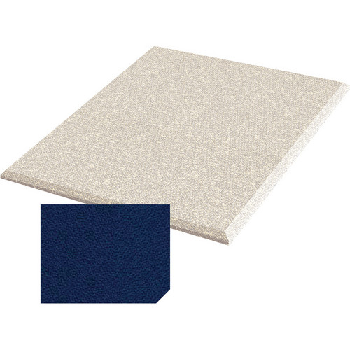 "Auralex ProPanel Fabric-Wrapped Acoustical Absorption Panel (1"" x 2' x 2', Straight, Cobalt)"