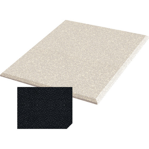 "Auralex ProPanel Fabric-Wrapped Acoustical Absorption Panel (1"" x 2' x 2', Straight, Ebony)"