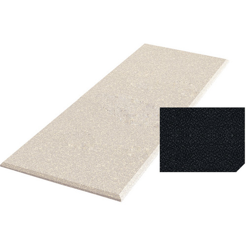 "Auralex ProPanel Fabric-Wrapped Acoustical Absorption Panel (1"" x 2' x 4', Straight, Ebony)"