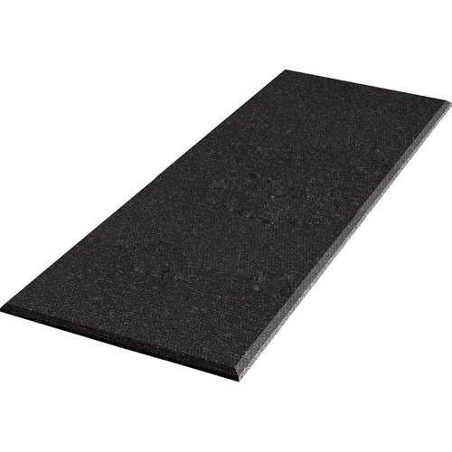 "Auralex ProPanel Fabric-Wrapped Acoustical Absorption Panel (1"" x 2' x 4', Straight, Obsidian)"