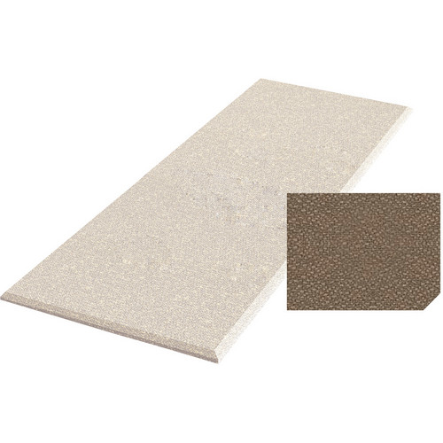 "Auralex ProPanel Fabric-Wrapped Acoustical Absorption Panel (1"" x 2' x 4', Straight, Pumice)"
