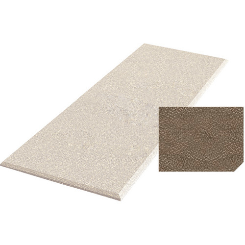 "Auralex ProPanel Fabric-Wrapped Acoustical Absorption Panel (2"" x 2' x 4', Straight, Pumice)"