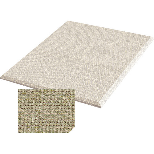 "Auralex ProPanel Fabric-Wrapped Acoustical Absorption Panel (2"" x 4' x 4', Straight, Patina)"