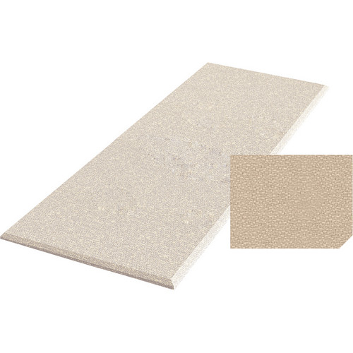 "Auralex ProPanel Fabric-Wrapped Acoustical Absorption Panel (2"" x 4' x 8', Straight, Beige)"